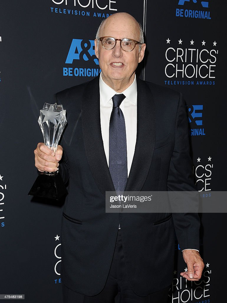 Actor Jeffrey Tambor poses in the press room at the 5th annual Critics' Choice Television Awards at The Beverly Hilton Hotel on May 31, 2015 in Beverly Hills, California.