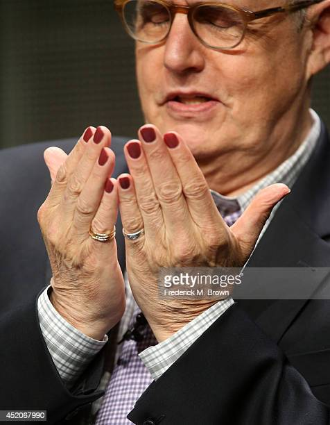 Actor Jeffrey Tambor speaks onstage at the Transparent panel during the Amazon Prime Instant Video portion of the 2014 Summer Television Critics...