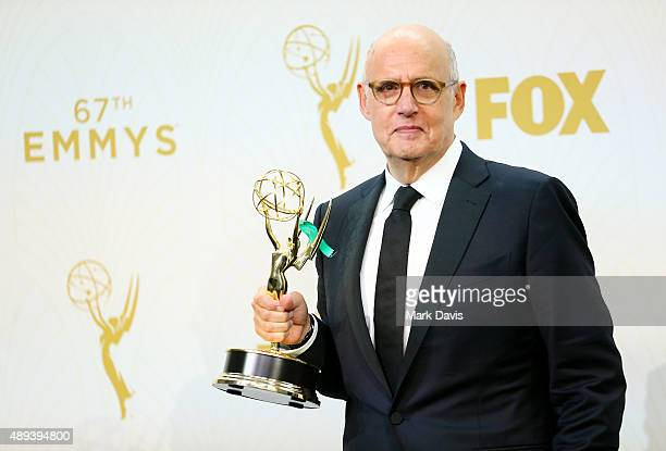 Actor Jeffrey Tambor winner of the award for Outstanding Lead Actor in a Comedy Series for 'Transparent' poses in the press room at the 67th Annual...