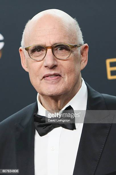 Actor Jeffrey Tambor winner of the Outstanding Lead Actor in a Comedy Series for 'Transparent' poses in the 68th Annual Primetime Emmy Awards Press...
