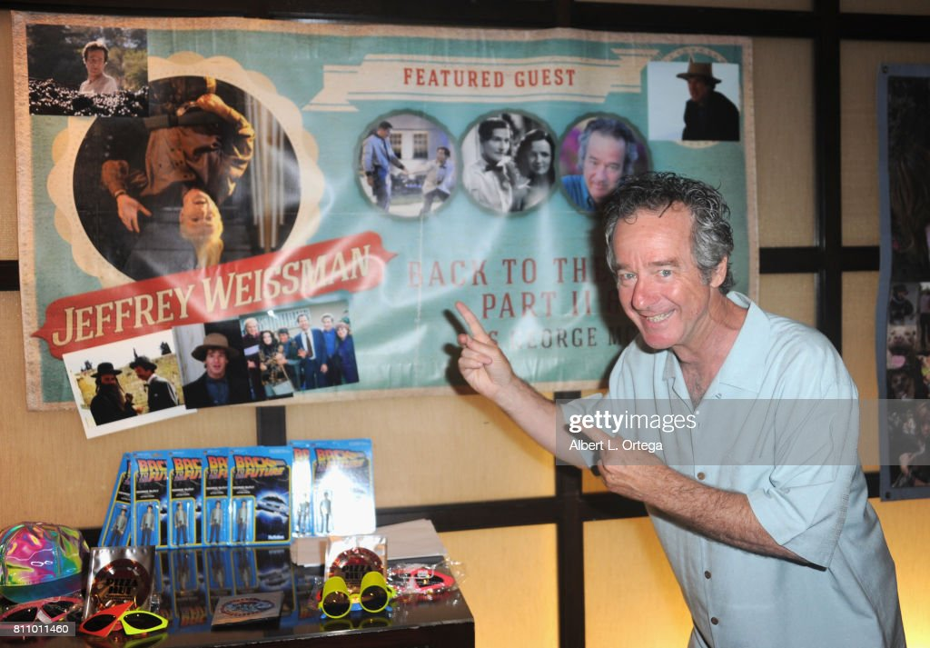 Actor Jeffrey Weissman signs autographs at The Hollywood Show held at Westin LAX Hotel on July 8, 2017 in Los Angeles, California.