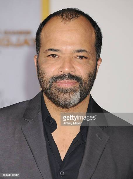 Actor Jeffrey Wright arrives at the 'The Hunger Games Mockingjay Part 1' Los Angeles Premiere at Nokia Theatre LA Live on November 17 2014 in Los...
