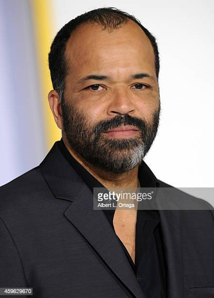 Actor Jeffrey Wright arrives for the Premiere Of Lionsgate's 'The Hunger Games Mockingjay Part 1' Arrivals held at Nokia Theatre LA Live on November...