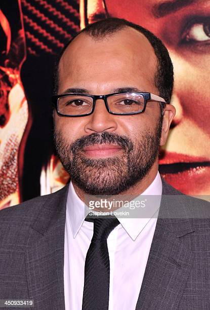 Actor Jeffrey Wright attends a special screening of 'The Hunger Games Catching Fire' on November 20 2013 in New York City