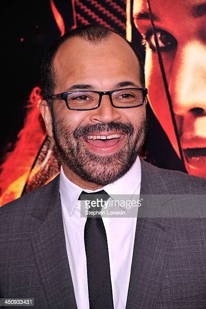 Actor Jeffrey Wright attends a special screening of The Hunger Games Catching Fire on November 20 2013 in New York City