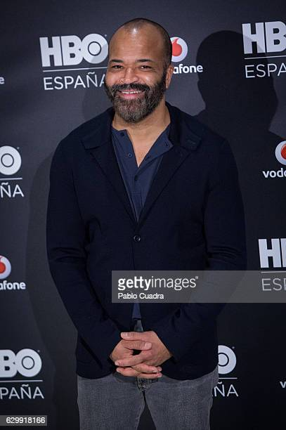 Actor Jeffrey Wright attends HBO Spain presentation at Urso Hotel on December 15 2016 in Madrid Spain