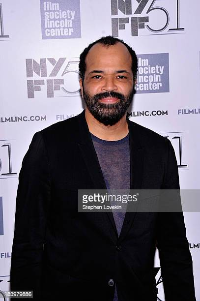 Actor Jeffrey Wright attends the Only Lovers Left Alive during the 51st New York Film Festival at Alice Tully Hall at Lincoln Center on October 10...
