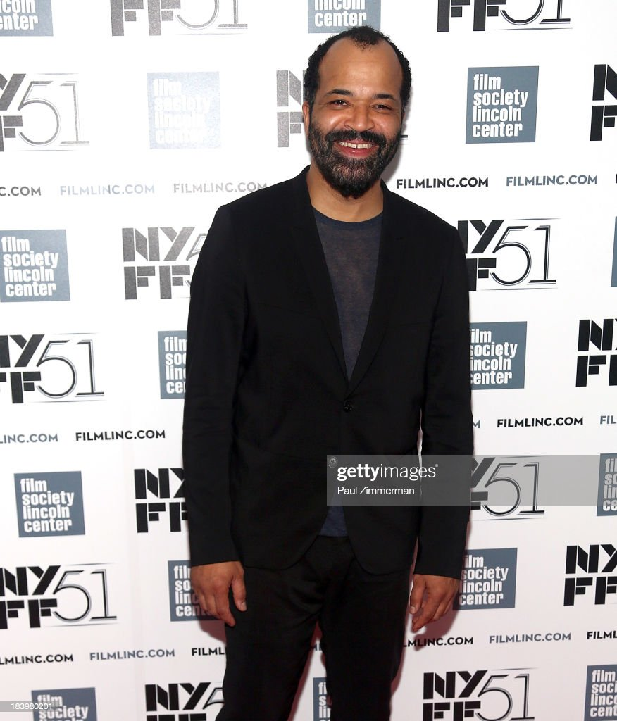 Actor Jeffrey Wright attends the 'Only Lovers Left Alive' Premiere during the 51st New York Film Festival at Alice Tully Hall at Lincoln Center on October 10, 2013 in New York City.