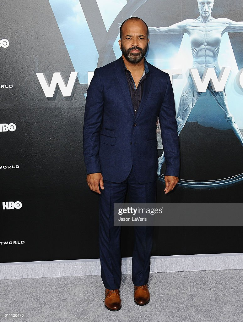 Actor Jeffrey Wright attends the premiere of 'Westworld' at TCL Chinese Theatre on September 28, 2016 in Hollywood, California.