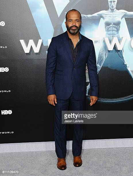 Actor Jeffrey Wright attends the premiere of Westworld at TCL Chinese Theatre on September 28 2016 in Hollywood California