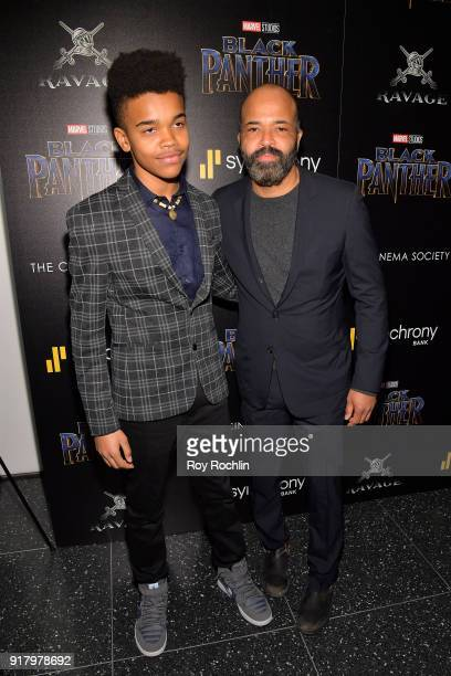 Actor Jeffrey Wright attends the screening of Marvel Studios' Black Panther hosted by The Cinema Society on February 13 2018 in New York City