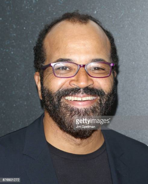 Actor Jeffrey Wright attends the'Roman J Israel Esquire' New York premiere at Henry R Luce Auditorium at Brookfield Place on November 20 2017 in New...