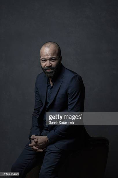 Actor Jeffrey Wright is photographed at the 13th annual Dubai International Film Festival held at the Madinat Jumeriah Complex on December 10 2016 in...