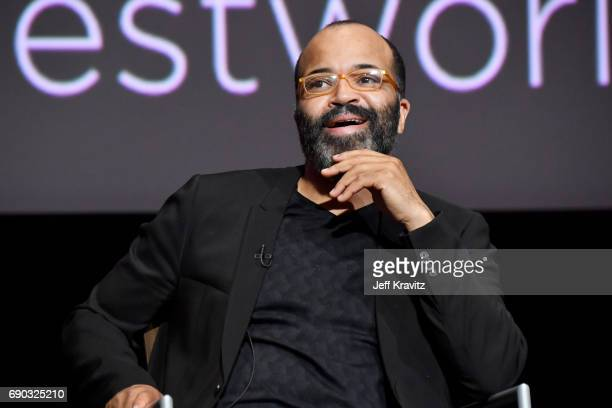 Actor Jeffrey Wright speaks onstage during HBO's 'Westworld' FYC panel at the Saban Media Center on May 30 2017 in North Hollywood California