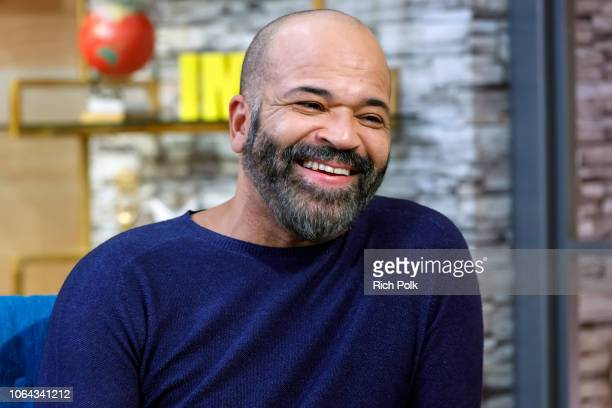 Actor Jeffrey Wright visits 'The IMDb Show' on October 30 2018 in Studio City California This episode of 'The IMDb Show' airs on November 8 2018