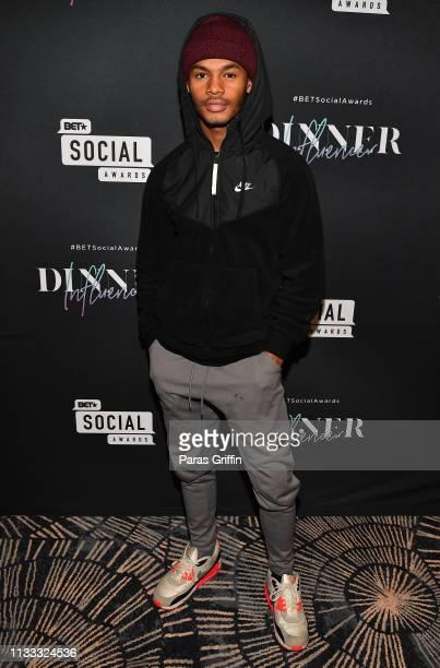 Actor Jelani Winston attends 2018 BET Social Awards Dinner at TWELVE Atlantic Station on March 02 2019 in Atlanta Georgia