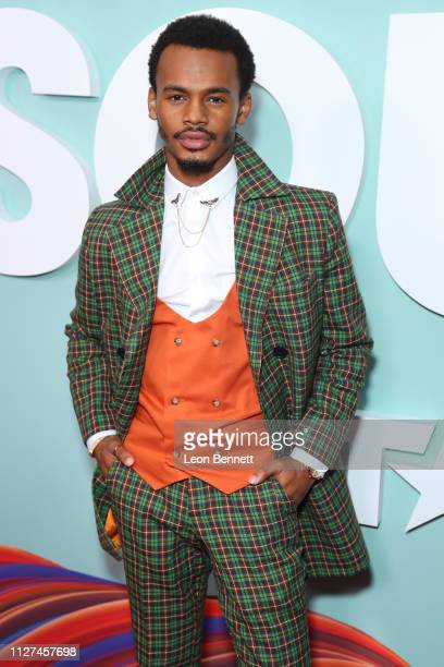 Actor Jelani Winston attends BET's American Soul Los Angeles Premiere on February 04 2019 in North Hollywood California