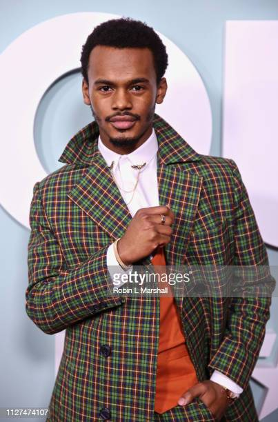 Actor Jelani Winston attends BET's American Soul Red Carpet at Wolf Theatre on February 04 2019 in North Hollywood California