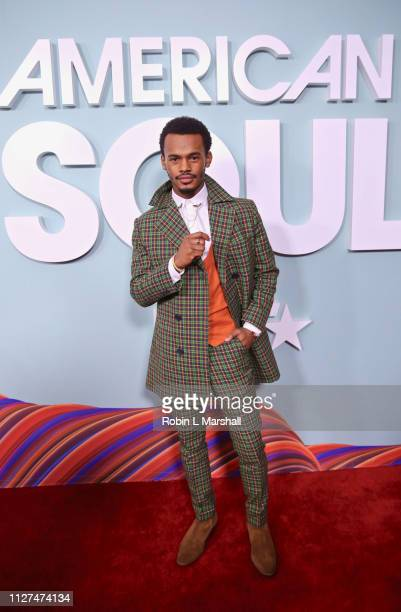 Actor Jelani Winston attends BET's 'American Soul' Red Carpet at Wolf Theatre on February 04 2019 in North Hollywood California