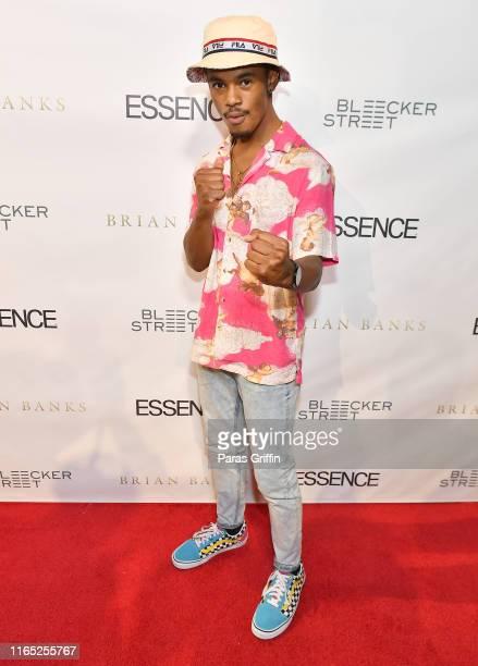 Actor Jelani Winston attends Brian Banks Atlanta Screening at SCADshow on July 30 2019 in Atlanta Georgia
