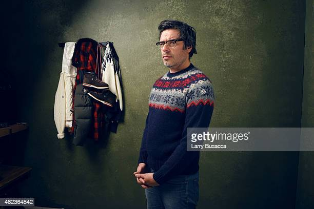 Actor Jemaine Clement of 'Don Verdean' poses for a portrait at the Village at the Lift Presented by McDonald's McCafe during the 2015 Sundance Film...