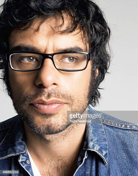 Actor Jemaine Clement poses at a portrait session on August 23 2007 in New York City