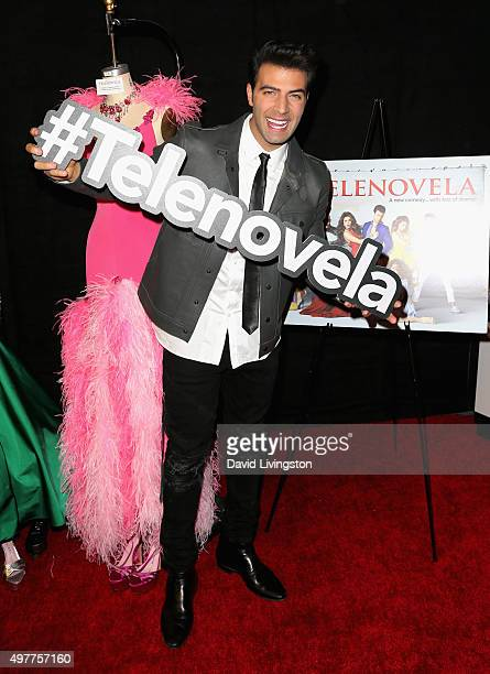 Actor Jencarlos Canela attends the NBC Comedy Press Junket for Telenovela and Superstore at Universal Studios Hollywood on November 18 2015 in...
