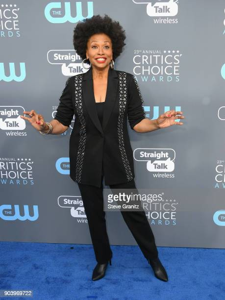 Actor Jenifer Lewis attends The 23rd Annual Critics' Choice Awards at Barker Hangar on January 11 2018 in Santa Monica California