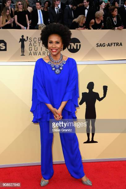 Actor Jenifer Lewis attends the 24th Annual Screen Actors Guild Awards at The Shrine Auditorium on January 21 2018 in Los Angeles California