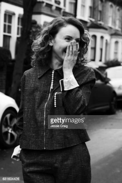 Actor Jenn Murray is photographed for The Picture Journal on November 15 2016 in London England