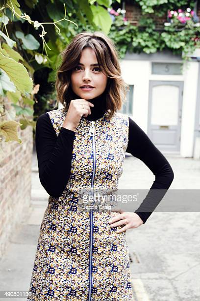 Actor Jenna Coleman is photographed for Flaunt magazine on July 20 2015 in London England