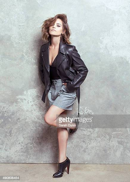 Actor Jenna Coleman is photographed for Harrods magazine on July 21 2015 in London England