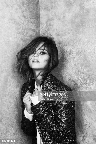 Actor Jenna Coleman is photographed for Harrods magazine on July 21, 2015 in London, England.