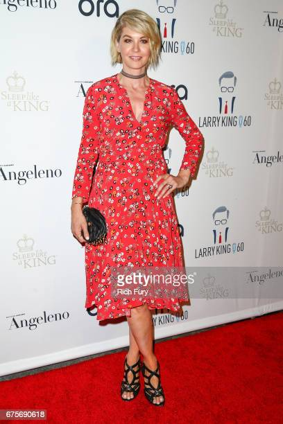Actor Jenna Elfman attends Larry King's 60th Broadcasting Anniversary Event at HYDE Sunset Kitchen Cocktails on May 1 2017 in West Hollywood...
