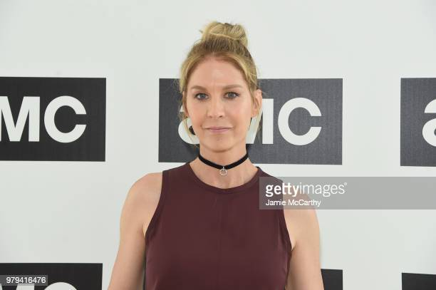 Actor Jenna Elfman attends the AMC Summit at Public Hotel on June 20 2018 in New York City