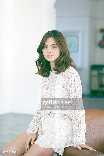 Actor JennaLouise Coleman is photographed for the Telegraph on November 21 2012 in London England