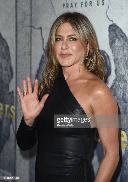 Actor Jennifer Aniston attends the premiere of HBO's The Leftovers Season 3 at Avalon Hollywood on April 4 2017 in Los Angeles California