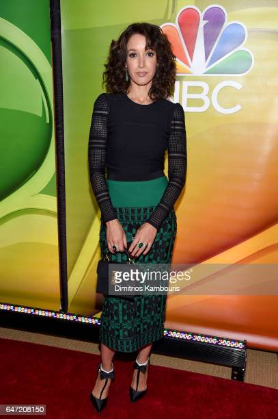 Actor Jennifer Beals attends the NBCUniversal Press Junket at the Four Seasons Hotel New York on March 2 2017 in New York City