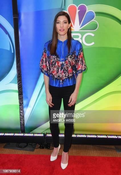 Actor Jennifer Carpenter attends the NBC midseason press junket at The Four Seasons in New York on January 24 2019
