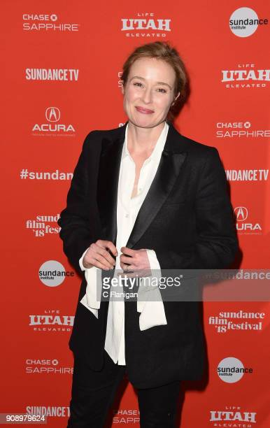 Actor Jennifer Ehle attends the 'Monster' Premiere during the 2018 Sundance Film Festival at Eccles Center Theatre on January 22, 2018 in Park City,...