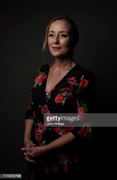 Actor Jennifer Ehle poses for a portrait session during the 63rd BFI London Film Festival on October 5, 2019 in London, England.