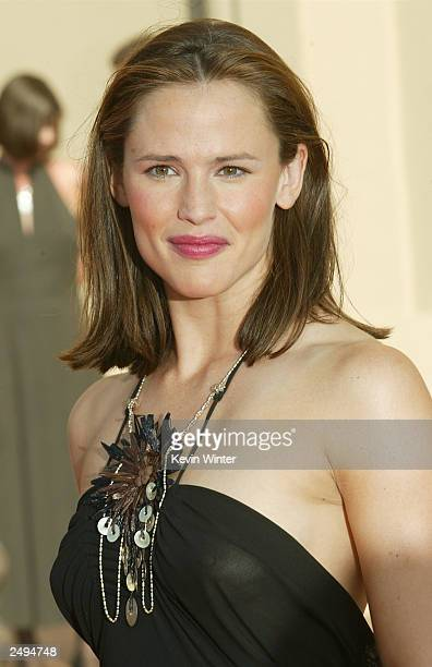 Actor Jennifer Garner attends the 2003 Primetime Creative Arts Awards held at the Shrine Auditorium, September 13, 2003 in Los Angeles, California.