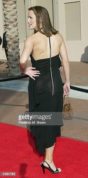 Actor Jennifer Garner attends the 2003 Primetime Creative Arts Awards held at the Shrine Auditorium September 13 2003 in Los Angeles California
