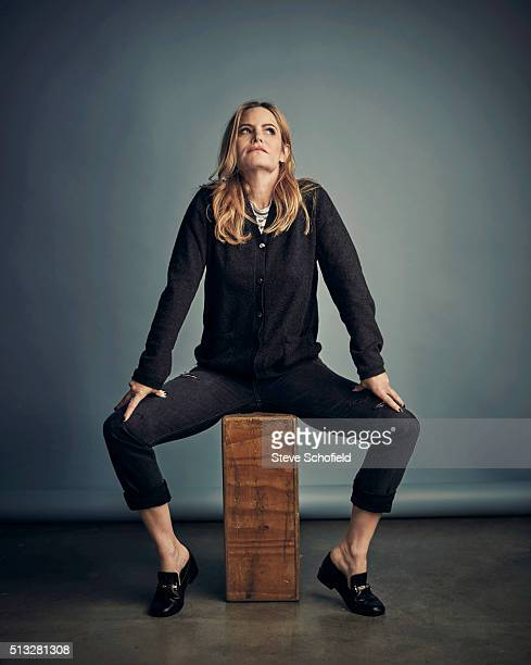 Actor Jennifer Jason Leigh is photographed for the Guardian on November 9 2015 in Los Angeles California