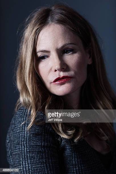Actor Jennifer Jason Leigh of 'Anomalisa' poses for a portrait at the 2015 Toronto Film Festival at the TIFF Bell Lightbox on September 16 2015 in...