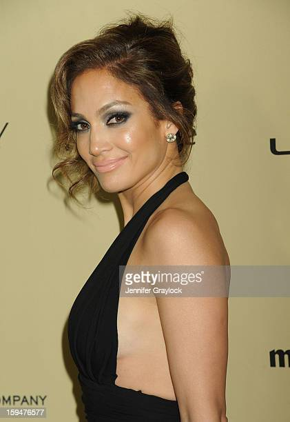 Actor Jennifer Lopez attends The Weinstein Company's 2013 Golden Globes After Party sponsored by Marie Claire held at The Old Trader Vic's in The...
