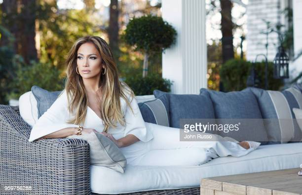 Actor Jennifer Lopez is photographed for People magazine on January 5 2015 in Los Angeles California