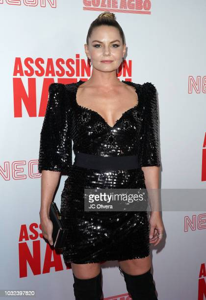 Actor Jennifer Morrison attends the premiere of Neon and Refinery29's 'Assassination Nation' at ArcLight Hollywood on September 12 2018 in Hollywood...