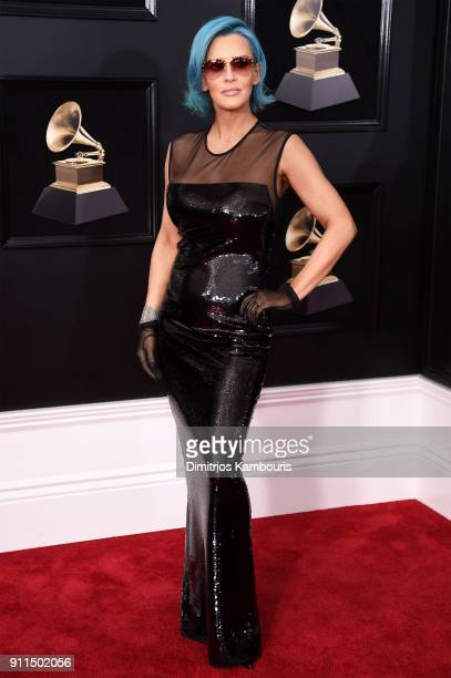 Actor Jenny McCarthy attends the 60th Annual GRAMMY Awards at Madison Square Garden on January 28 2018 in New York City