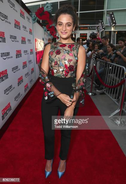 """Actor Jenny Slate attends Amazon Prime Video Premiere Of Original Comedy Series """"Comrade Detective"""" In Los Angeles on August 3, 2017 in Los Angeles,..."""
